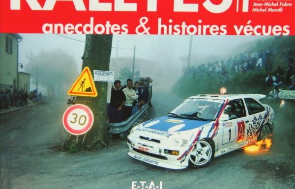 L'ouvrage Rallye Anecdotes de nouveau disponible !